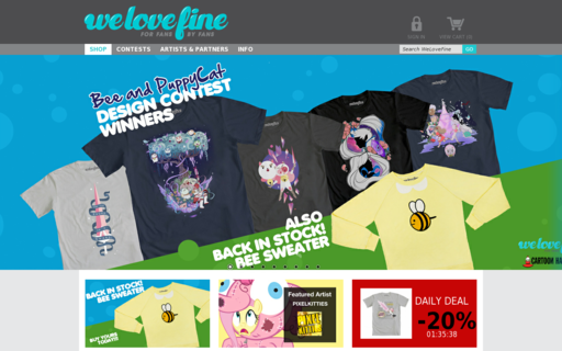 Access welovefine.com using Hola Unblocker web proxy