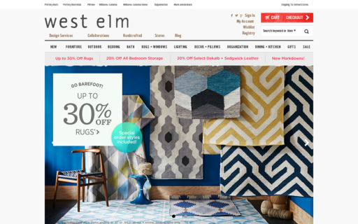 Access westelm.com using Hola Unblocker web proxy
