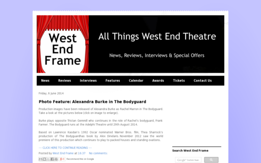 Access westendframe.com using Hola Unblocker web proxy