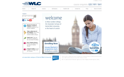 Access westlondoncollege.com using Hola Unblocker web proxy
