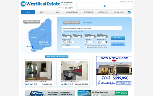 Access westrealestate.com.au using Hola Unblocker web proxy
