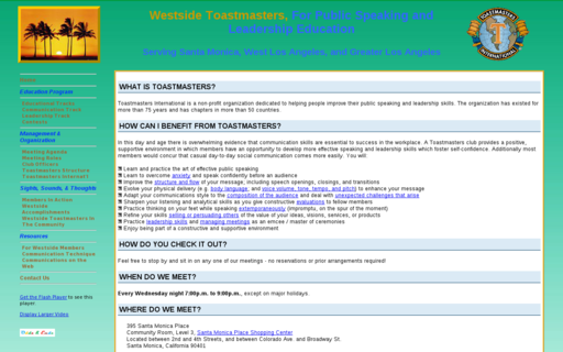 Access westsidetoastmasters.com using Hola Unblocker web proxy