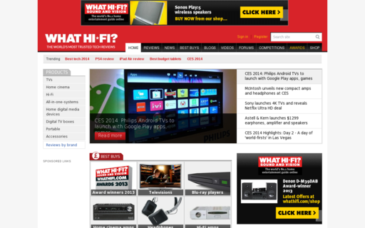Access whathifi.com using Hola Unblocker web proxy