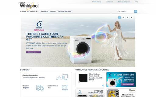 Access whirlpool.ie using Hola Unblocker web proxy