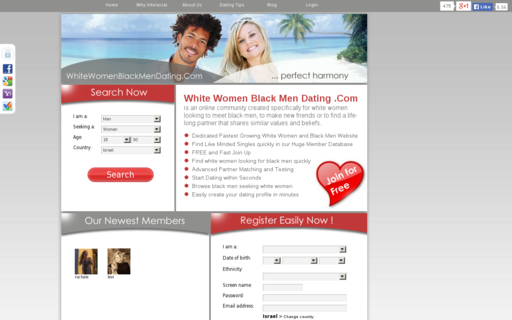 Access whitewomenblackmendating.com using Hola Unblocker web proxy