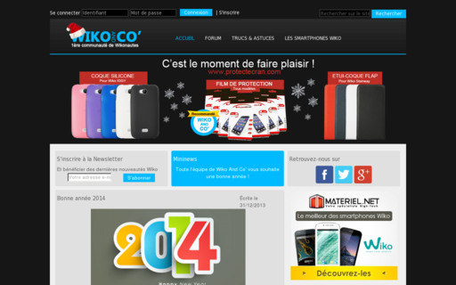 Access wikoandco.fr using Hola Unblocker web proxy