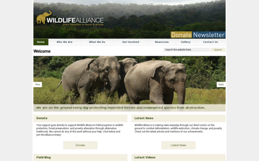 Access wildlifealliance.org using Hola Unblocker web proxy