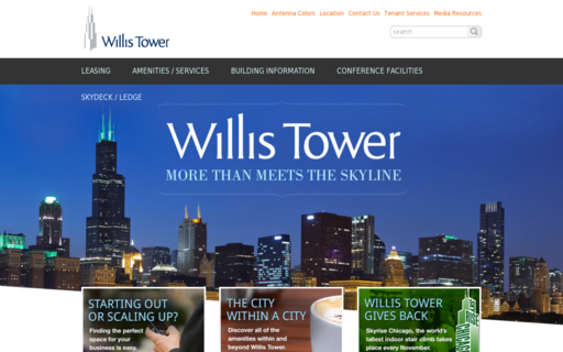 Access willistower.com using Hola Unblocker web proxy