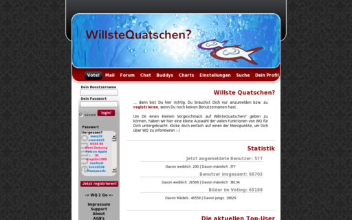 Access willstequatschen.de using Hola Unblocker web proxy