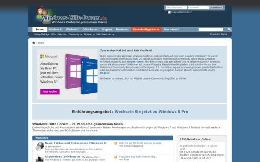 Access windows-hilfe-forum.de using Hola Unblocker web proxy