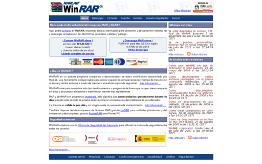 Access winrar.es using Hola Unblocker web proxy