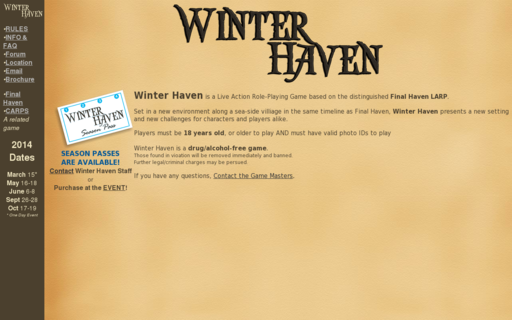 Access winterhavenlarp.com using Hola Unblocker web proxy
