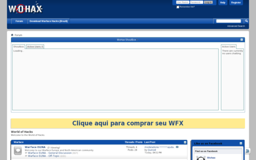 Access wohax.com using Hola Unblocker web proxy