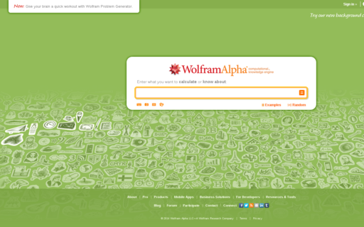 Access wolframalpha.com using Hola Unblocker web proxy
