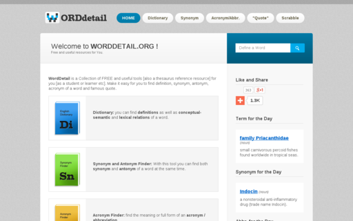 Access worddetail.org using Hola Unblocker web proxy
