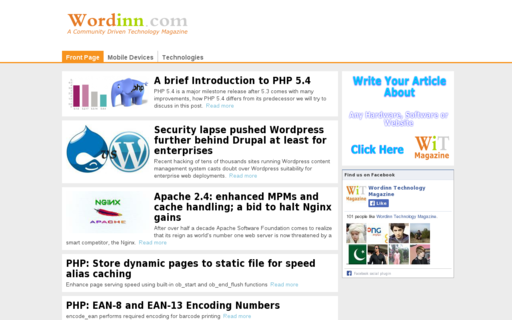 Access wordinn.com using Hola Unblocker web proxy