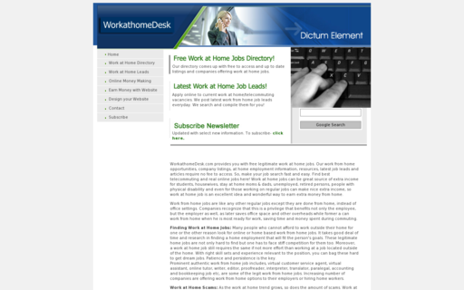 Access workathomedesk.com using Hola Unblocker web proxy