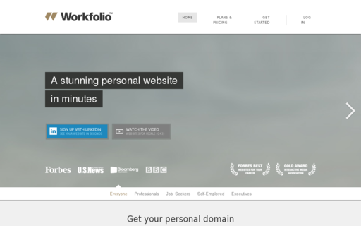 Access workfolio.com using Hola Unblocker web proxy