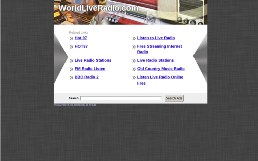 Access worldliveradio.com using Hola Unblocker web proxy