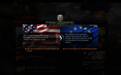 Access worldoftanks.com using Hola Unblocker web proxy