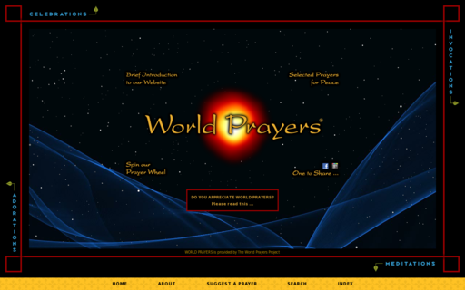 Access worldprayers.org using Hola Unblocker web proxy