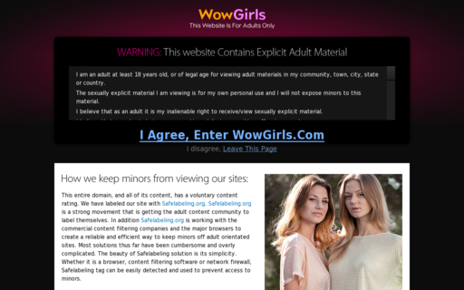 Access wowgirls.com using Hola Unblocker web proxy