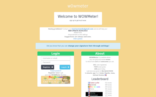 Access wowmeter.net using Hola Unblocker web proxy