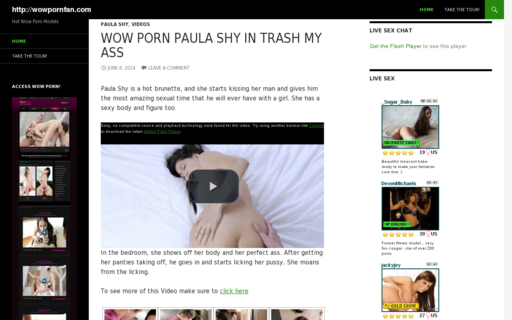 Access wowpornfan.com using Hola Unblocker web proxy