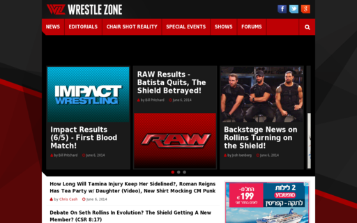 Access wrestlezone.com using Hola Unblocker web proxy