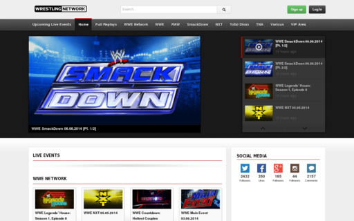 Access wrestling-network.net using Hola Unblocker web proxy