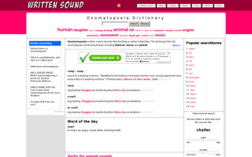Access writtensound.com using Hola Unblocker web proxy