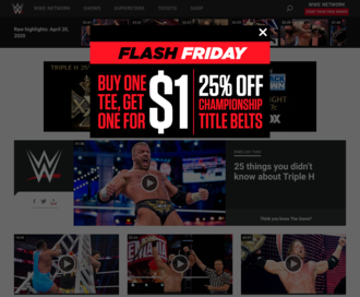 Access wwe.com using Hola Unblocker web proxy