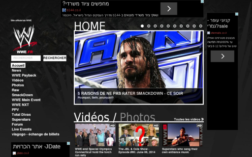 Access wwe.fr using Hola Unblocker web proxy