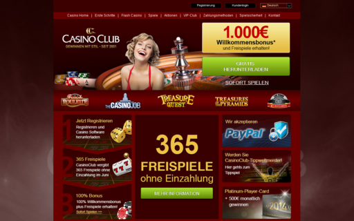 Access www.casinoclub.com using Hola Unblocker web proxy
