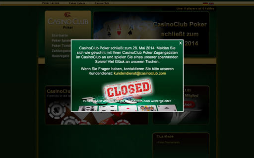 Access www.casinoclubpoker.com using Hola Unblocker web proxy