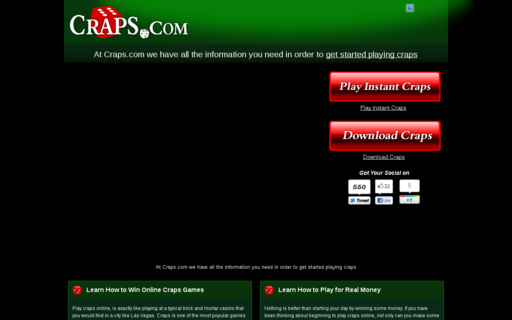 Access www.craps.com using Hola Unblocker web proxy