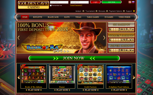 Access www.goldencavecasino.com using Hola Unblocker web proxy