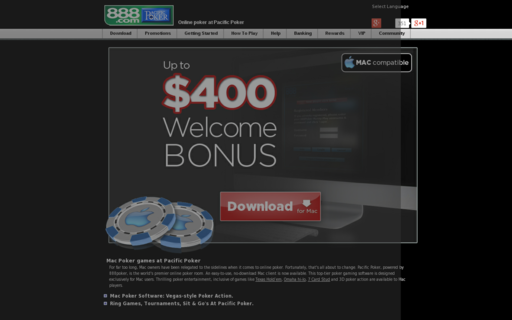 Access www.pacificpoker.com using Hola Unblocker web proxy