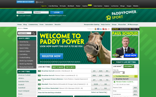 Access www.paddypower.com using Hola Unblocker web proxy
