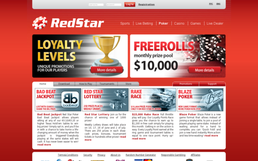 Access www.redstarpoker.com using Hola Unblocker web proxy