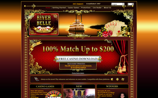 Access www.riverbellecasino.com using Hola Unblocker web proxy