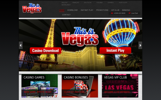 Access www.thisisvegas.com using Hola Unblocker web proxy