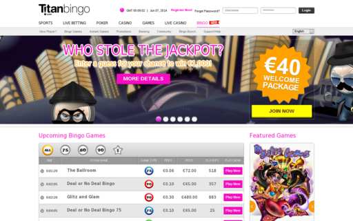 Access www.titanbingo.com using Hola Unblocker web proxy