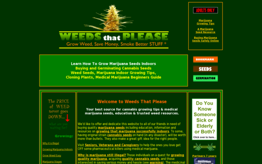 Access www.weedsthatplease.com using Hola Unblocker web proxy