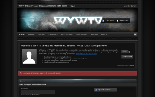 Access wywtv.com using Hola Unblocker web proxy
