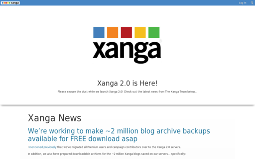 Access xanga.com using Hola Unblocker web proxy