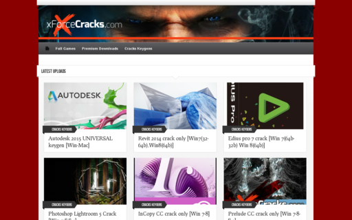 Access xforcecracks.com using Hola Unblocker web proxy