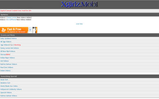 Access xgirlz.mobi using Hola Unblocker web proxy