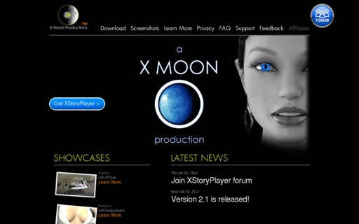 Access xmoonproductions.com using Hola Unblocker web proxy