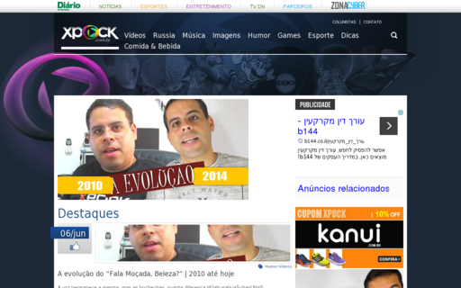 Access xpock.com.br using Hola Unblocker web proxy